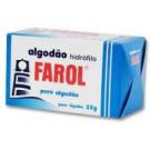 Algodão Farol Hidrófilo Caixinha 25 g c/ 20 un