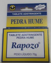Pedra Hume Adstringente Rapozo 70 g Blíster