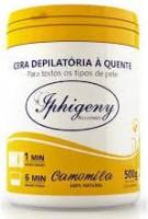 Cera Depilatória  Iphigeny 500 gr Camomila