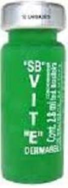 Ampola Dermabel Vitamina E  2,8 ml Pacote 25 un